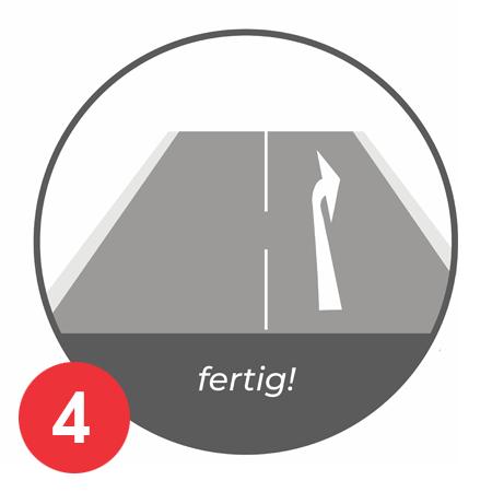 Anleitung Aufbrennen Parkplatznmarkierung E-Auto Bild 4
