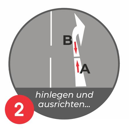 Anleitung Aufbrennen Parkplatznmarkierung E-Auto Bild 2